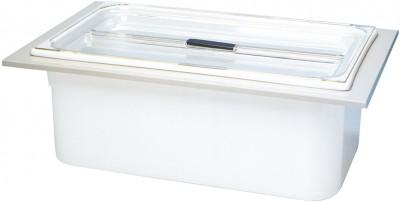 Bandelin Einhängewanne KW 14 aus Kunststoff mit Deckel