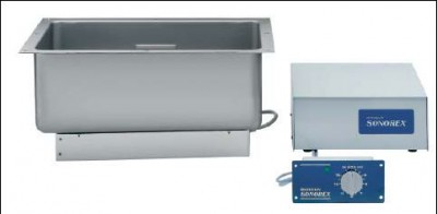 Ultraschallreinigungsgerät Bandelin ZE 1059 inklusive Ablaufgarnitur