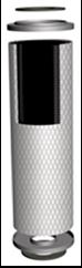 "Aktivkohle-Filterkerze AKF-CACE 20"""