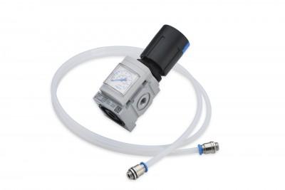 Druckluftminderer für Druckluft-Zuleitung
