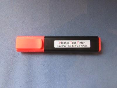 Teststift (Faserstift) grün befüllt mit Testtinte 5 ml