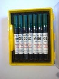 Easy Teststift grün Satz D, Werte 28 - 56 mN/m