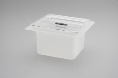 Säure-Einsatzwanne aus Kunststoff mit Deckel Elmasonic 180