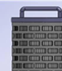 Absolute Polyproylen-Mikrofaser-Filterkerze PPAC700-E / 20µm / 860 mm