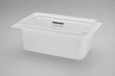 Säure-Einsatzwanne aus Kunststoff mit Deckel Elmasonic 500