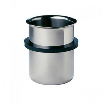 Bandelin Einsatzgefäß EB 05 mit Ring und Deckel