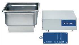 Ultraschallreinigungsgerät Bandelin ZE 514 DT inklusive Ablaufgarnitur