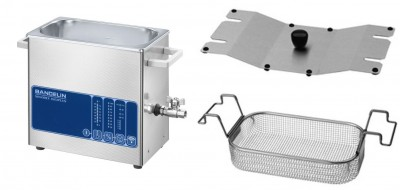 Angebotspaket Bandelin Sonorex Digiplus DL 102 H inkl. Deckel und Heizung